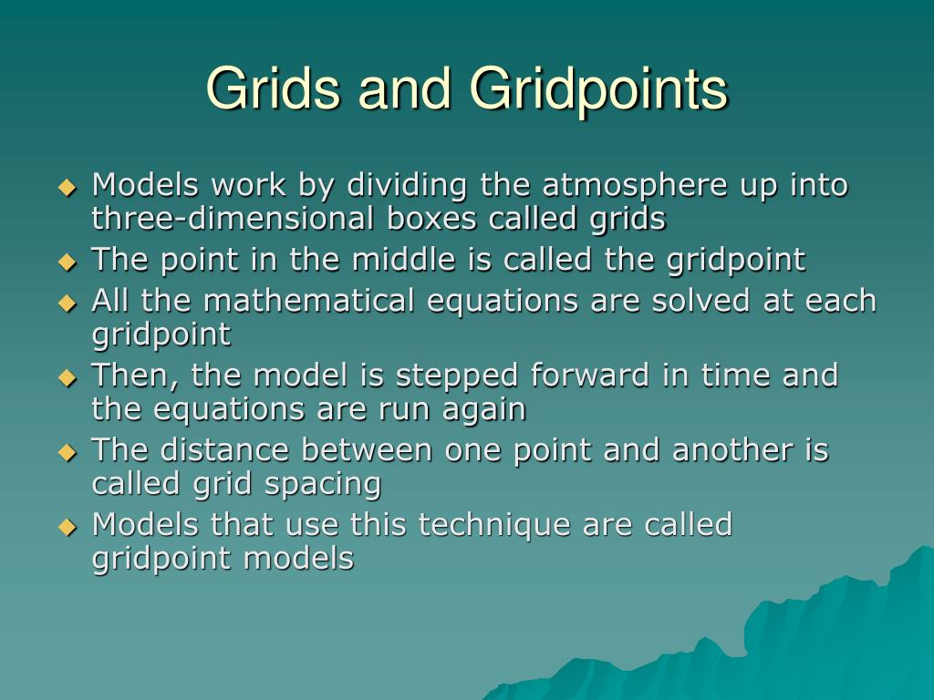Grids and Gridpoints