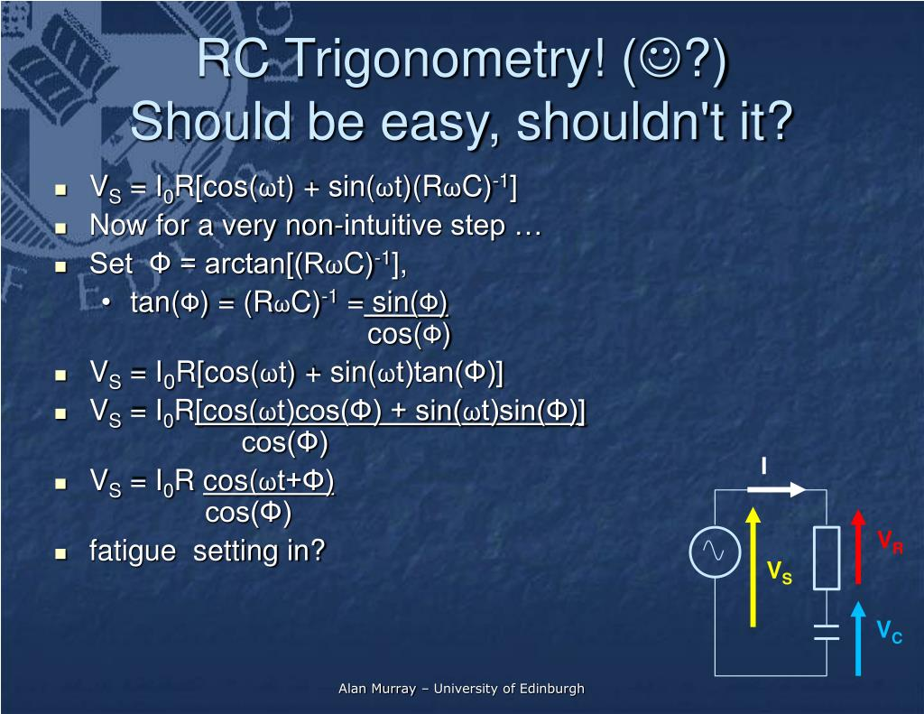RC Trigonometry! (
