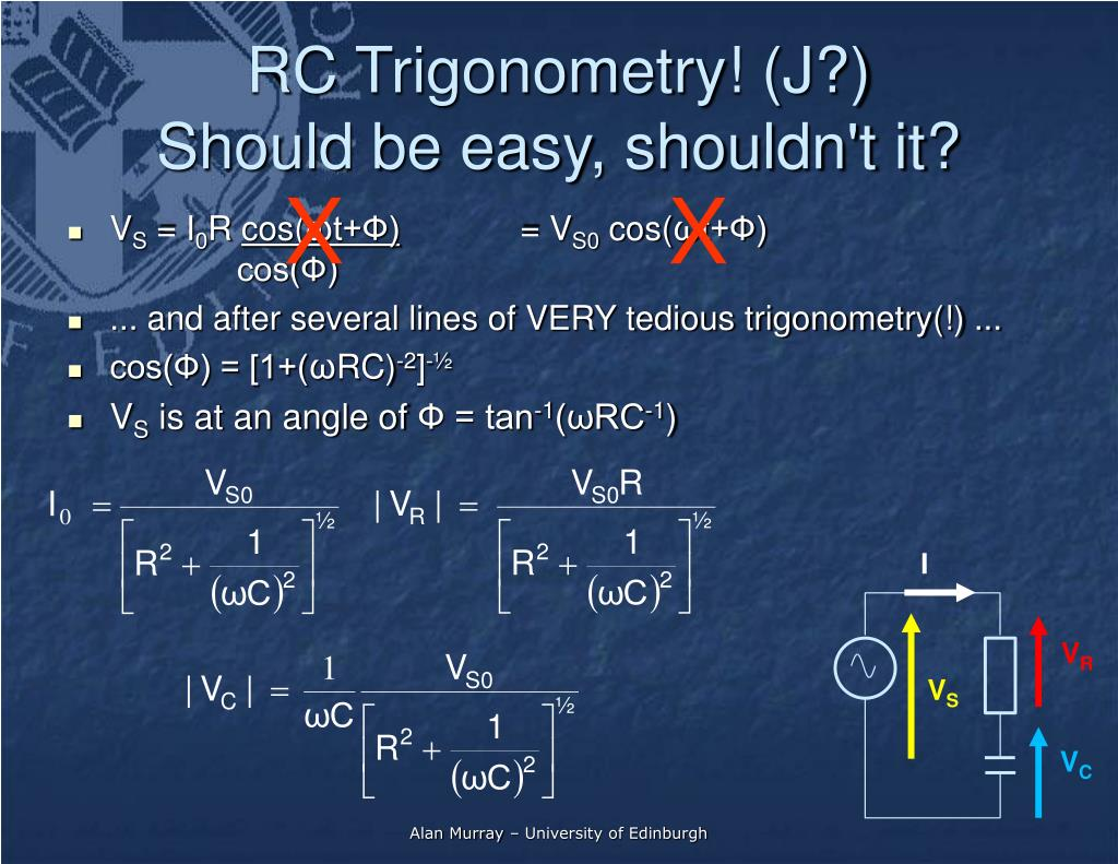 RC Trigonometry! (J?)