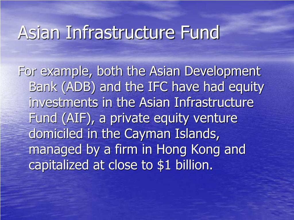 Asian Infrastructure Fund