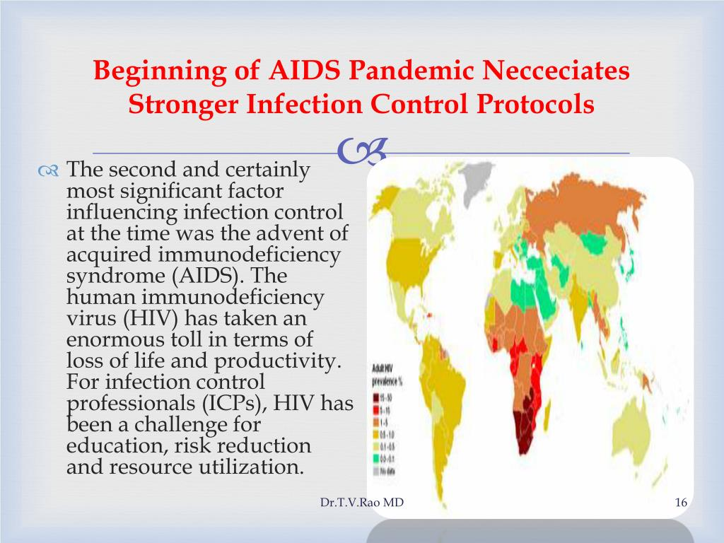 Beginning of AIDS Pandemic Necceciates Stronger Infection Control Protocols