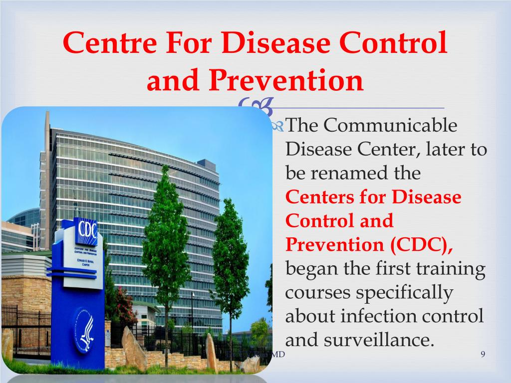 Centre For Disease Control and Prevention