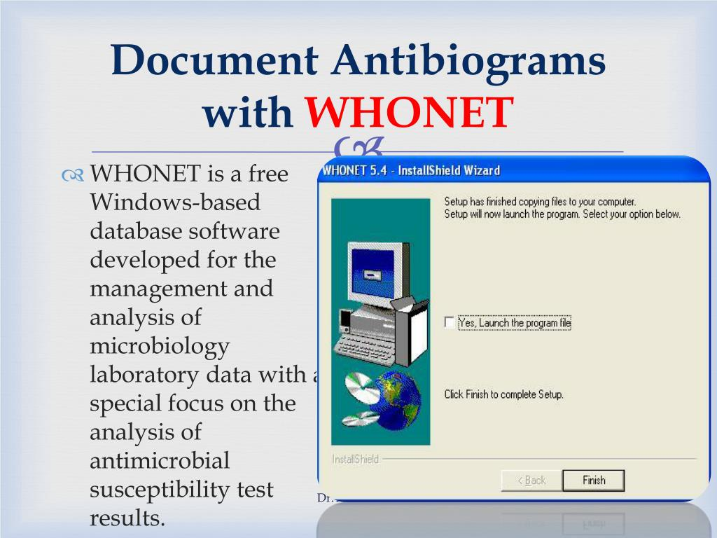 Document Antibiograms with