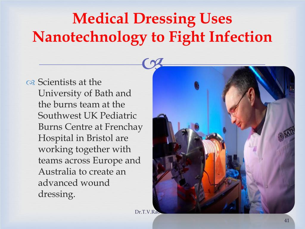 Medical Dressing Uses Nanotechnology to Fight Infection