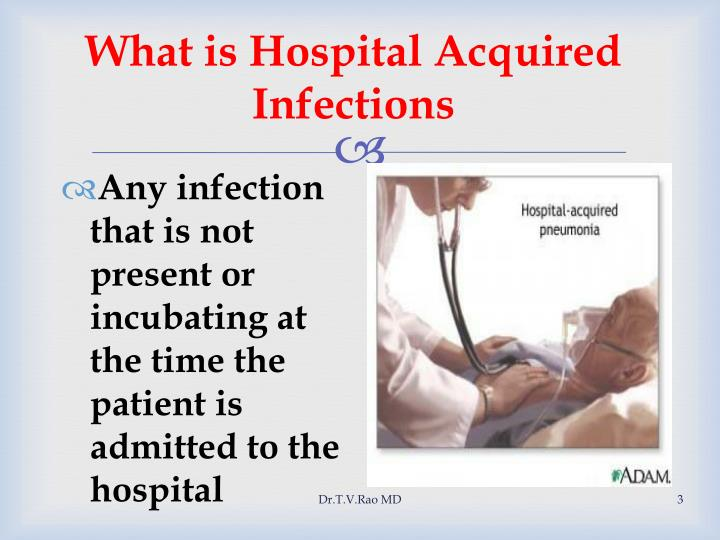 What is hospital acquired infections