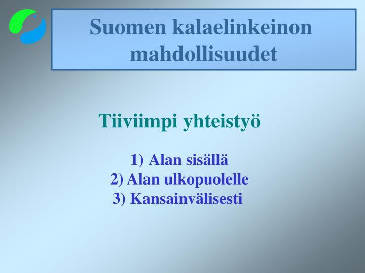 Suomen kalaelinkeinon