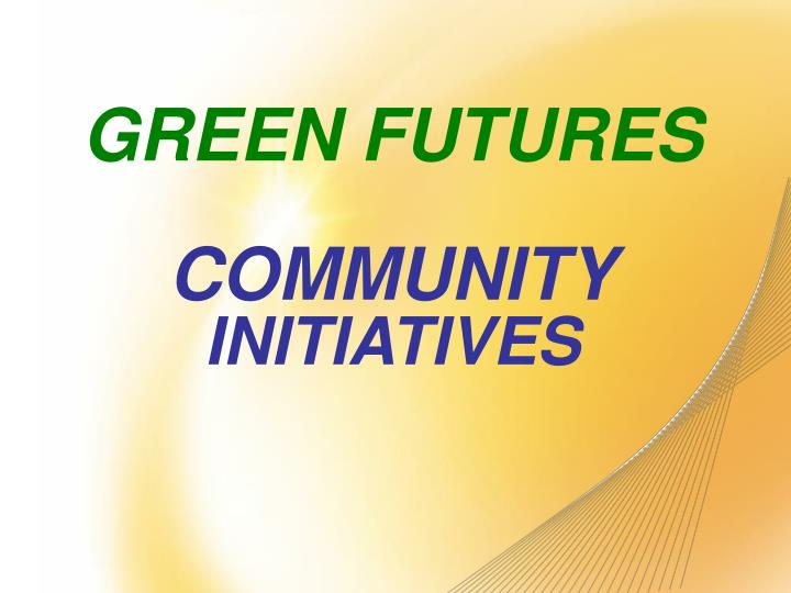 GREEN FUTURES