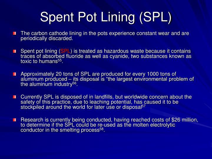 Spent Pot Lining (SPL)