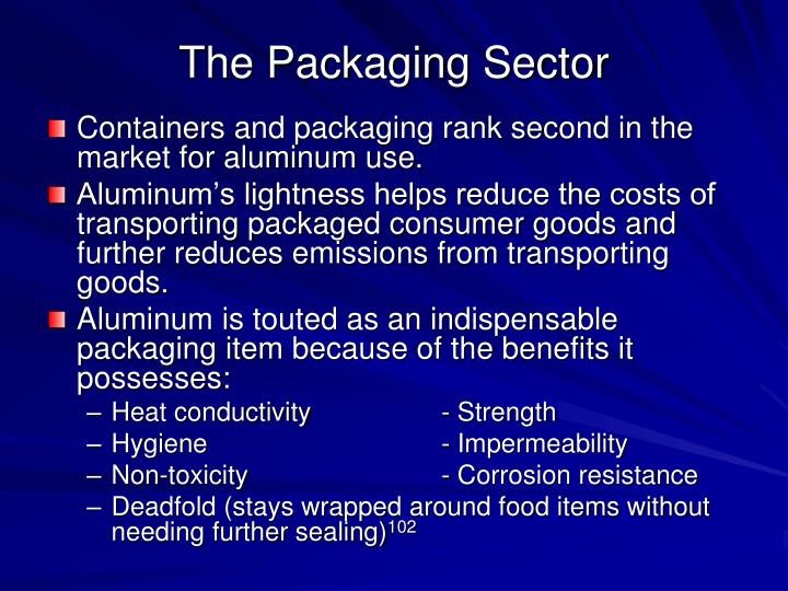 The Packaging Sector