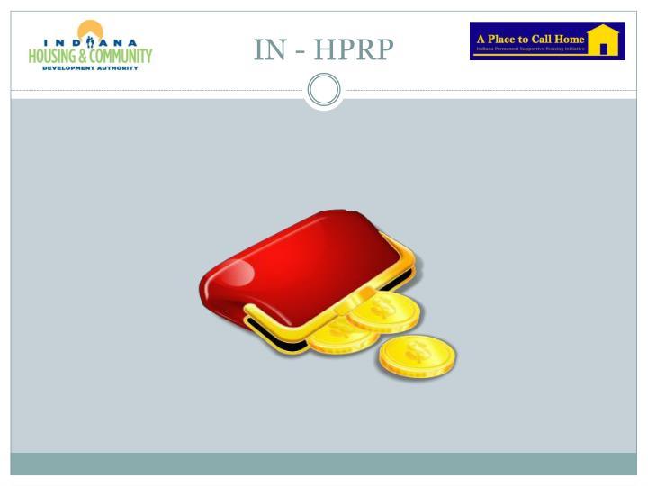 IN - HPRP