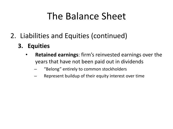 relationship between contributed capital and retained earnings