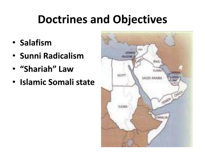 Doctrines and Objectives