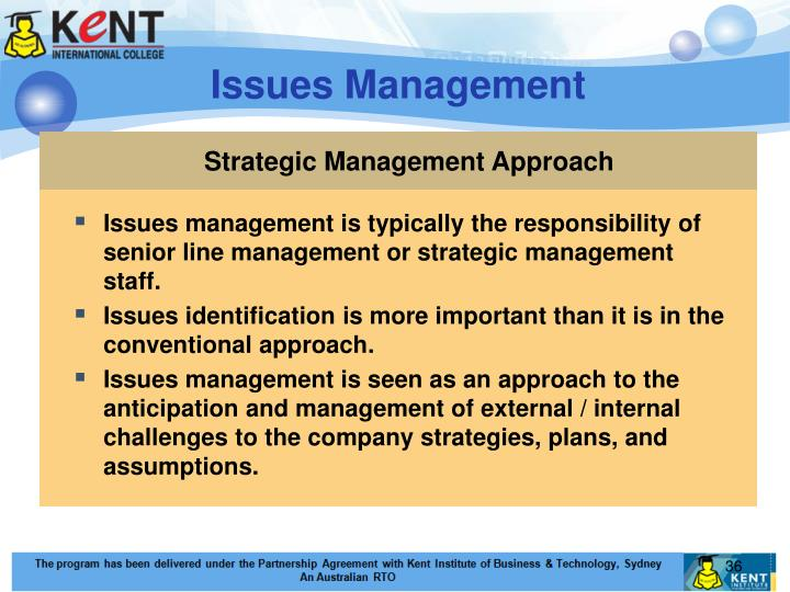 Strategic Management Approach