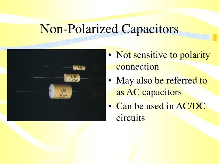 Non-Polarized Capacitors