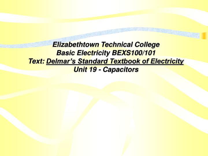 Elizabethtown Technical College