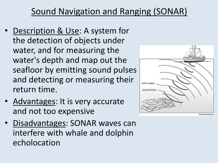 advantages and disadvantages of sonar technology Here are the top 7 disadvantages of solar  we've written all over the site about the advantages and disadvantages of solar  , solar technology.