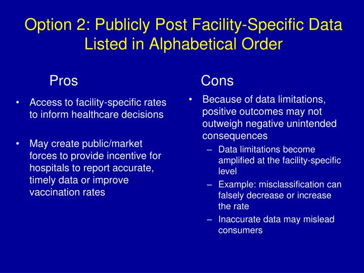 Access to facility-specific rates to inform healthcare decisions