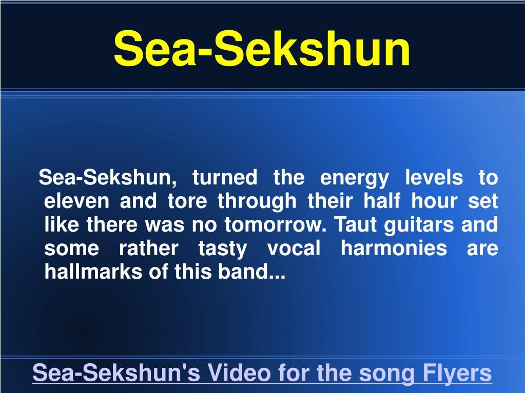 Sea-Sekshun