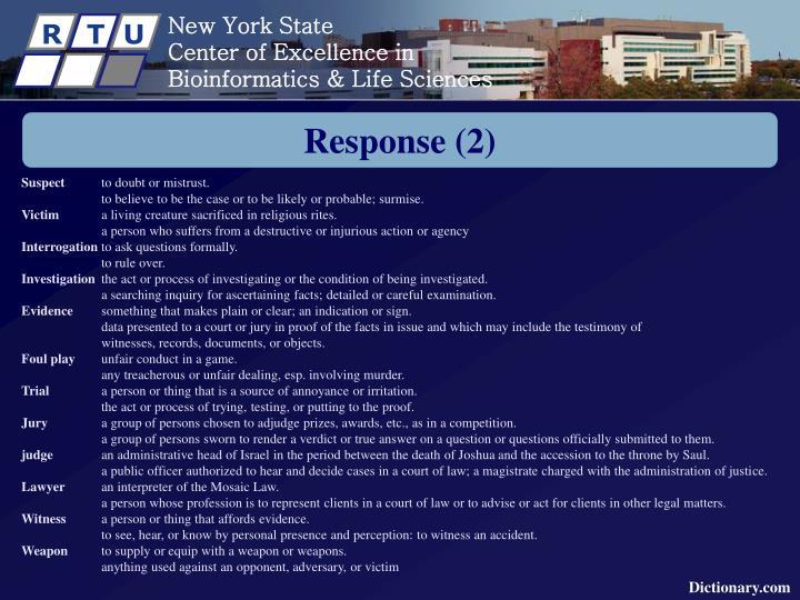 Response (2)