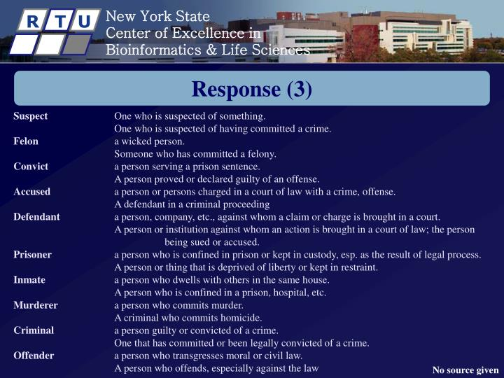 Response (3)
