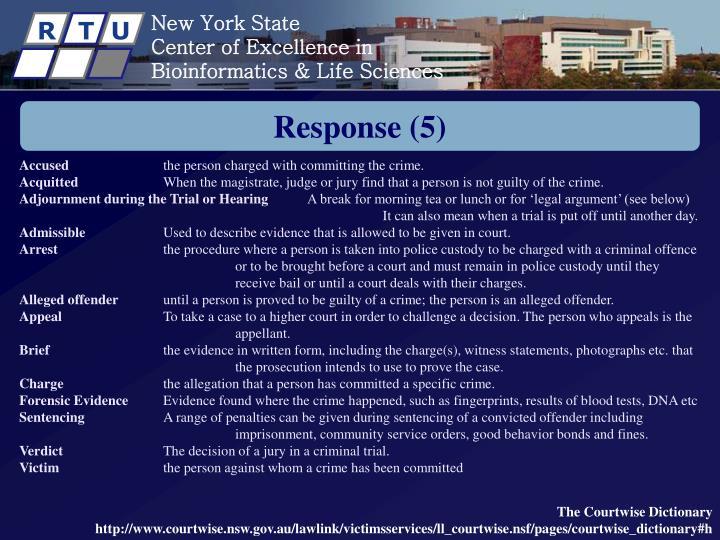 Response (5)