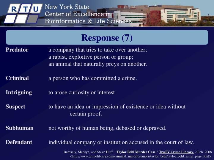 Response (7)
