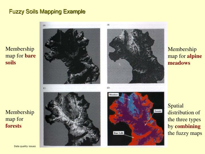 Fuzzy Soils Mapping Example