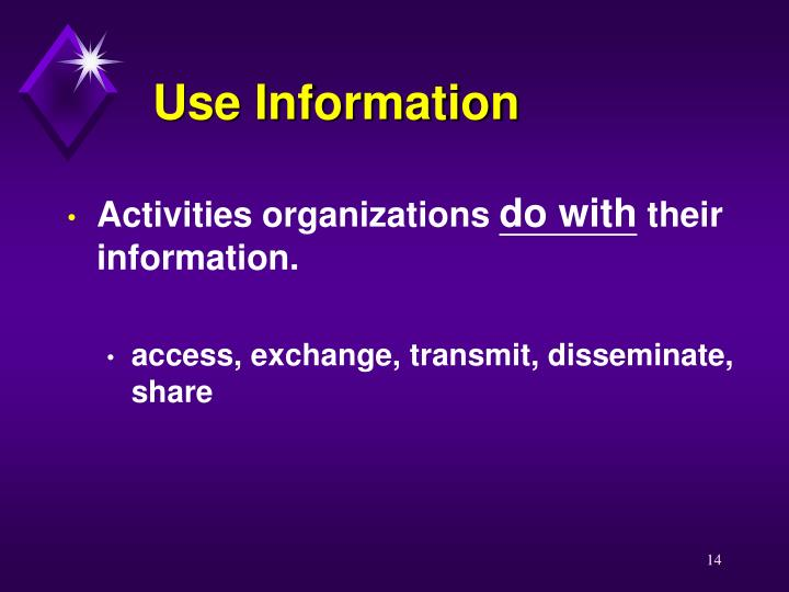 Use Information