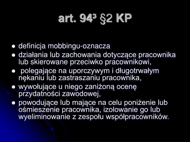 art. 94³