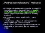 portret psychologiczny mobbera