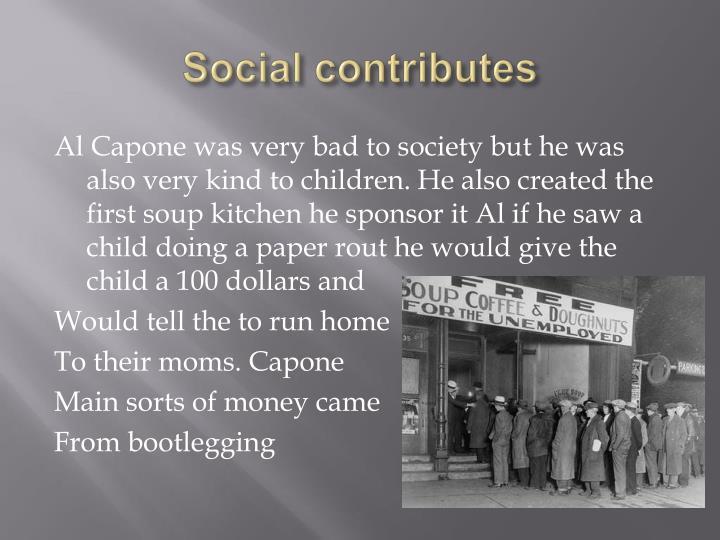 Social contributes