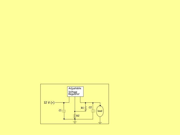 Ppt C1 Ceramic Capacitor 0 1 Microfarad C2 Electrolytic