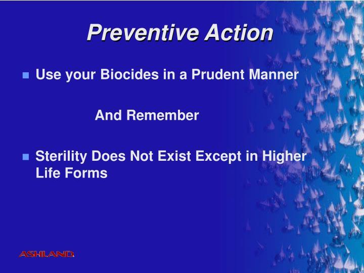 Preventive Action