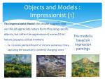 objects and models impressionist 1