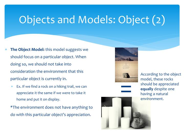 Objects and Models: Object (2)