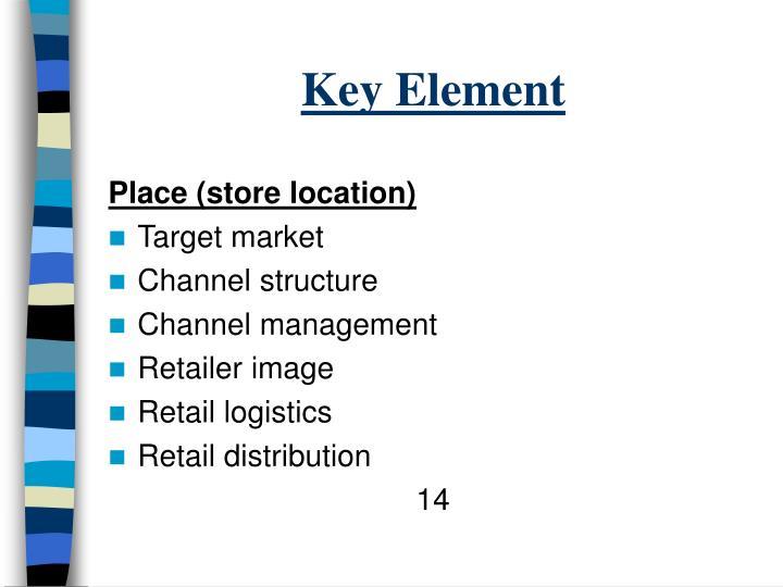 Key Element