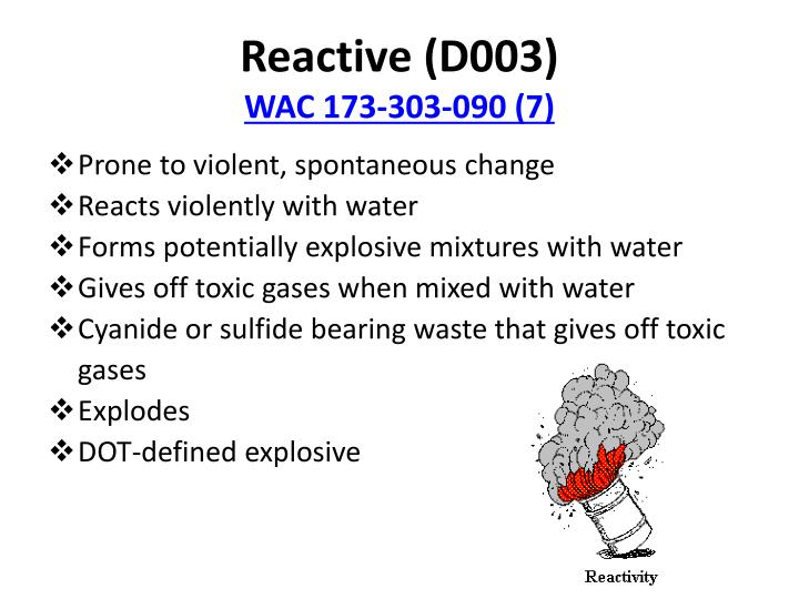 Reactive (D003)