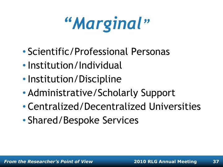 """Marginal"