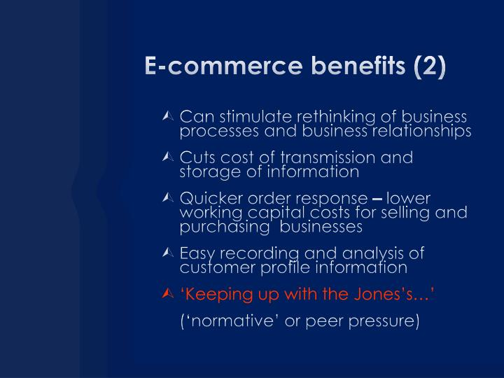 E-commerce benefits (2)