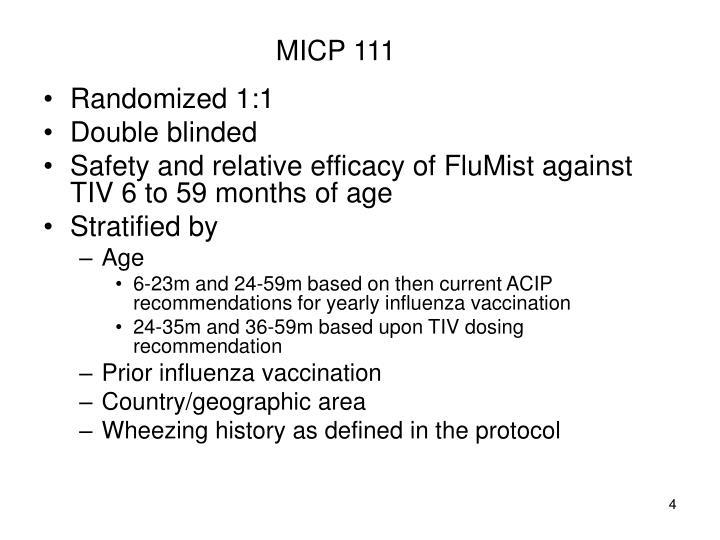 MICP 111