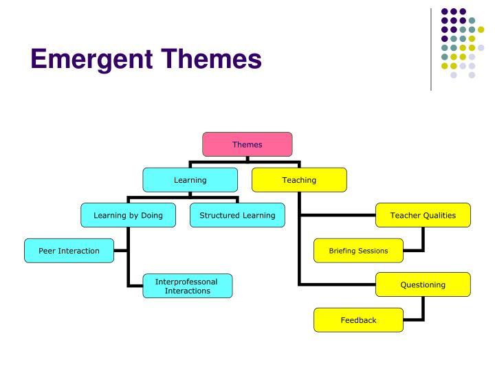 Emergent Themes
