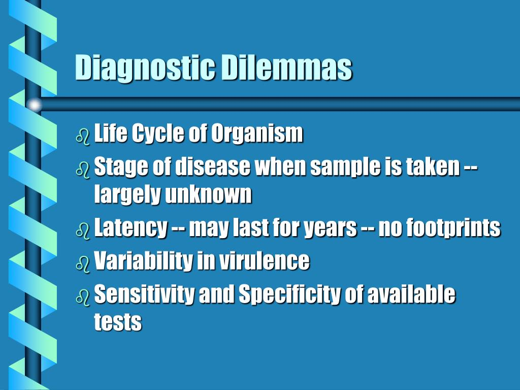 Diagnostic Dilemmas