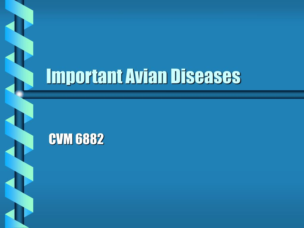 Important Avian Diseases