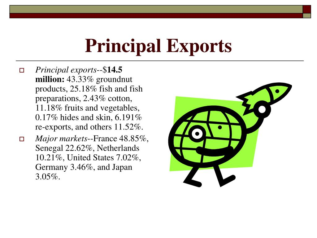 Principal Exports
