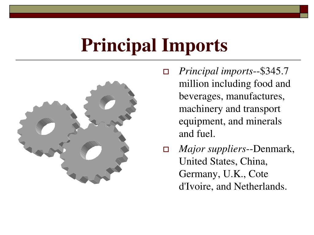 Principal Imports
