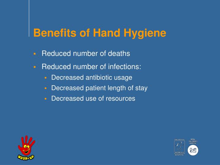 Benefits of Hand Hygiene