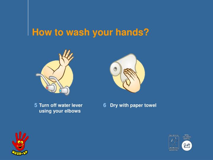 How to wash your hands?