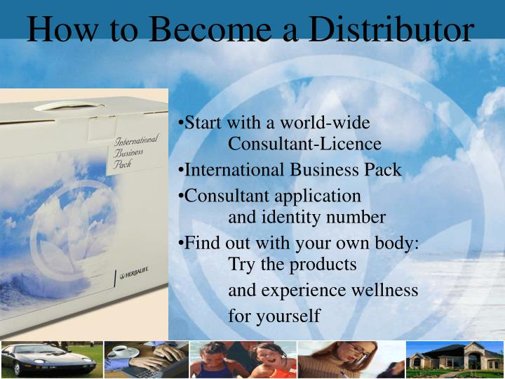 How to Become a Distributor