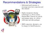 recommendations strategies20