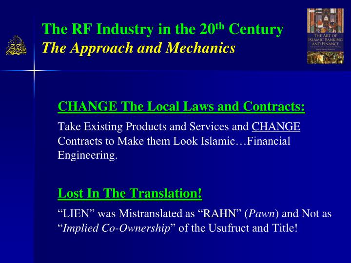 The RF Industry in the 20
